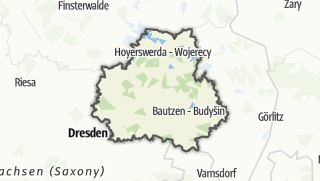Karte / Bautzen