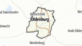 地图 / Oldenburg (Oldenburg)