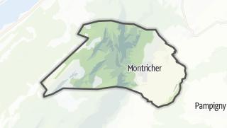 Карта / Montricher
