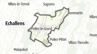 Карта / Poliez-le-Grand