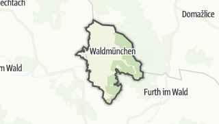 מפה / Waldmünchen