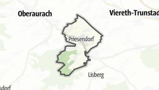 Carte / Priesendorf
