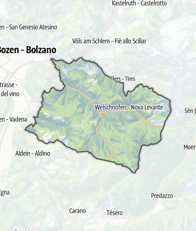 Map / Dolomites Rose Garden