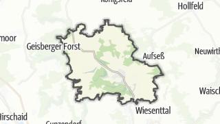 Carte / Heiligenstadt in Oberfranken