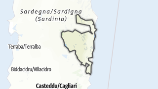 Map / Ogliastra