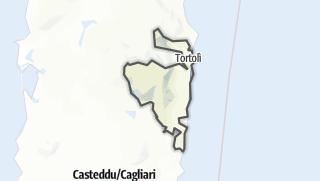 מפה / Ogliastra