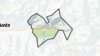 Karte / Saint-Vincent