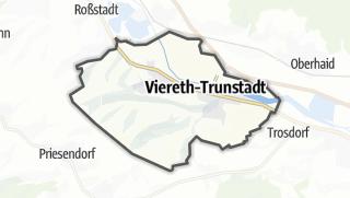 Carte / Viereth-Trunstadt