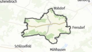 Carte / Burgebrach