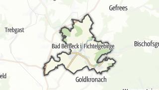 地图 / Bad Berneck im Fichtelgebirge