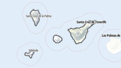 Running and Skating in Santa Cruz de Tenerife: the best tracks