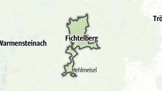 Cartina / Fichtelberg