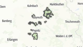 Cartina / Bayreuth, comunità non registrata