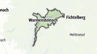 Cartina / Warmensteinach