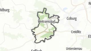 מפה / Weitramsdorf