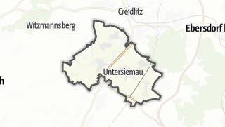 מפה / Untersiemau