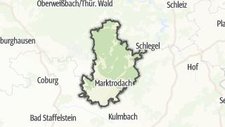 Karte / Kronach