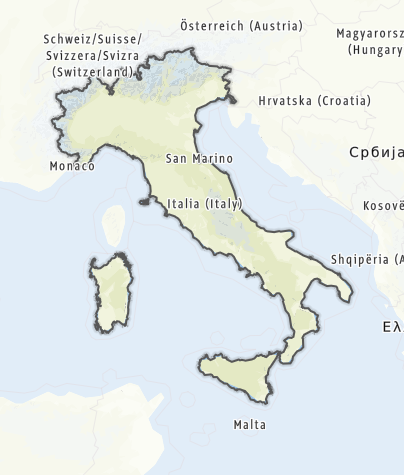 Map / Italy