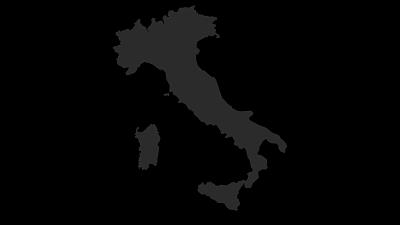 Karte / Italien