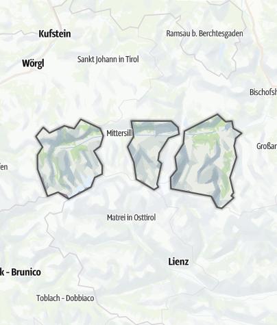 Karte / Ferienregion Nationalpark Hohe Tauern