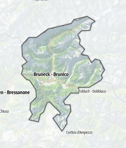 Map / Dolomites Kronplatz