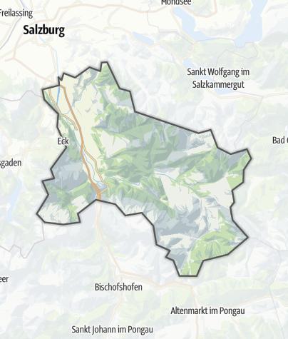 Karte / Tennengau