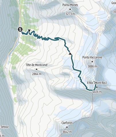 Karte / Gran Paradiso 2013