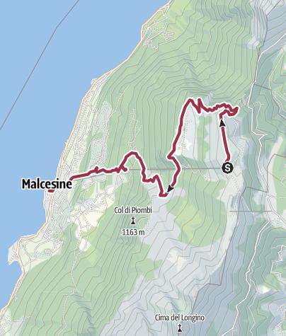 wanderwege gardasee karte Wanderung   Monte Baldo • Wanderung » outdooractive.com