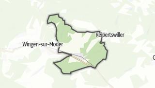 Mapa / Wimmenau