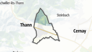 Mapa / Vieux-Thann