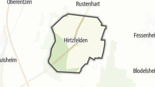 Mapa / Hirtzfelden