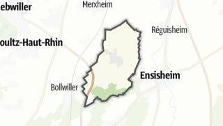 מפה / Ungersheim