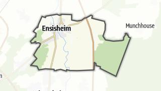מפה / Ensisheim