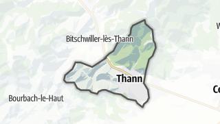 מפה / Thann