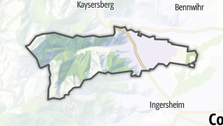 מפה / Ammerschwihr
