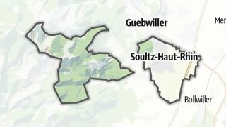 Mapa / Soultz-Haut-Rhin