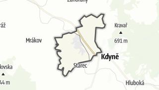 מפה / Kout na Šumavě