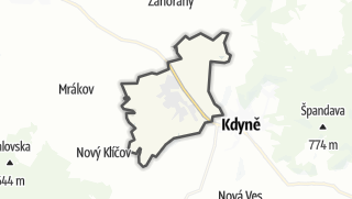Karte / Kout na Šumavě