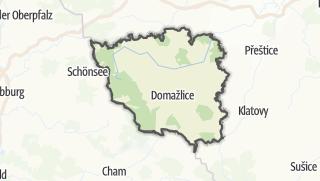 地图 / Domažlice