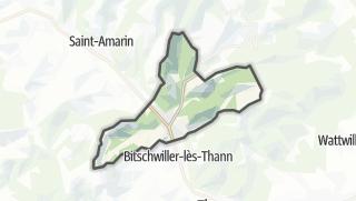 Cartina / Willer-sur-Thur