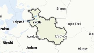 Karte / Overijssel