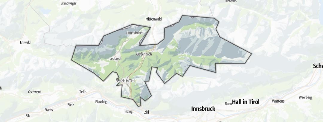 Map / Pilgrim walks in Seefeld