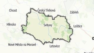 מפה / Svitavy