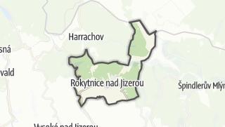 מפה / Rokytnice nad Jizerou