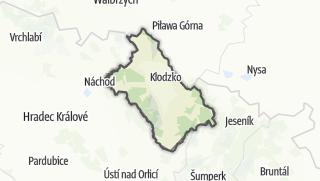 Mapa / Klodzki
