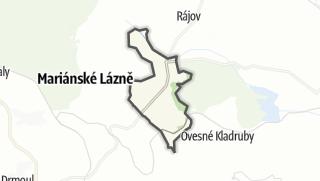Karte / Zádub-Závišín