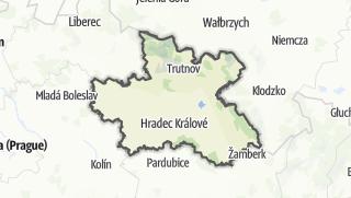 Karte / Königgrätz