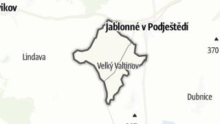 מפה / Velký Valtinov