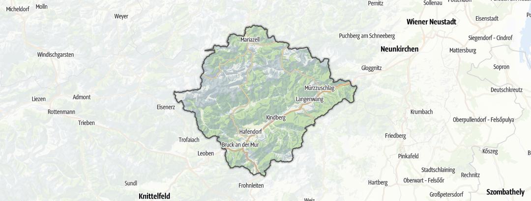 Mapa / Apartamentos para Férias em Bruck an der Mur