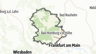 Karte / Hochtaunuskreis